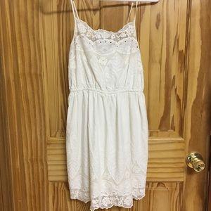 Summer spaghetti strap mini dress
